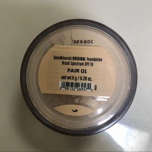 Bare Minerals Original SPF 15 Foundation Fair 01